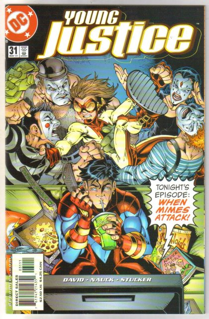 Young Justice #31 comic book mint plus 9.9