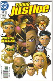 Young Justice #32 comic book mint plus 9.9