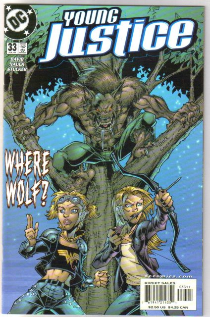 Young Justice #33 comic book mint plus 9.9
