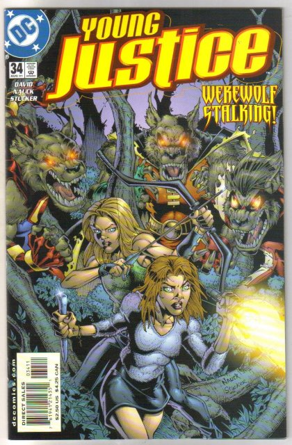 Young Justice #34 comic book mint plus 9.9