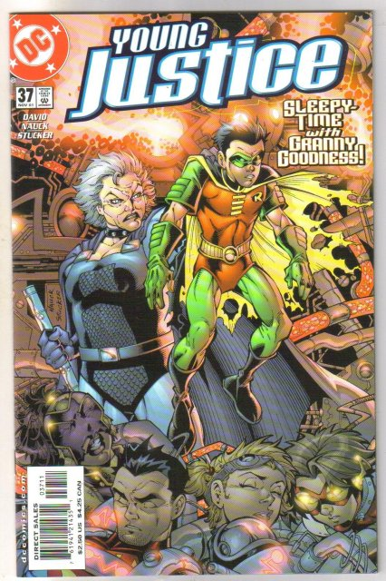 Young Justice #37 comic book mint plus 9.9