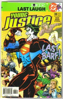 Young Justice #38 comic book mint plus 9.9