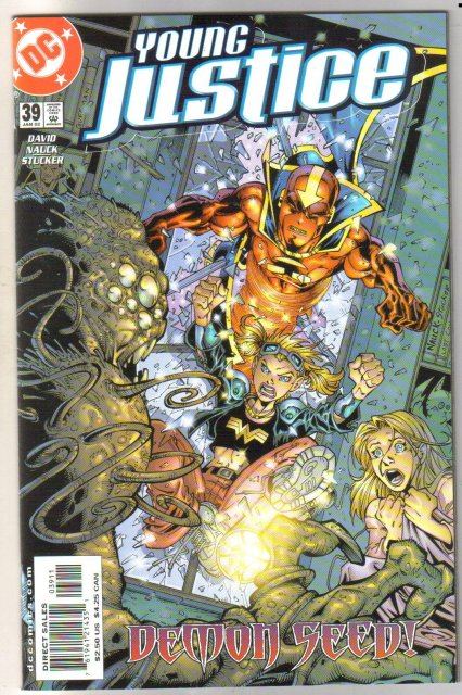 Young Justice #39 comic book mint plus 9.9