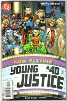 Young Justice #40 comic book mint plus 9.9