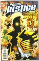 Young Justice #41 comic book mint plus 9.9