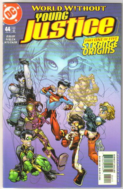 Young Justice #44 comic book near mint 9.4