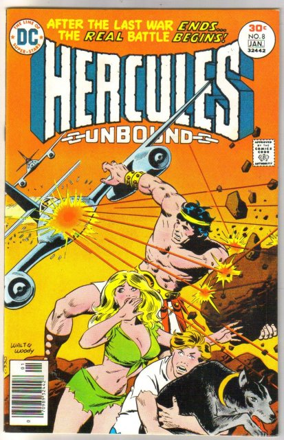 Hercules Unbound #8 comic book near mint 9.4