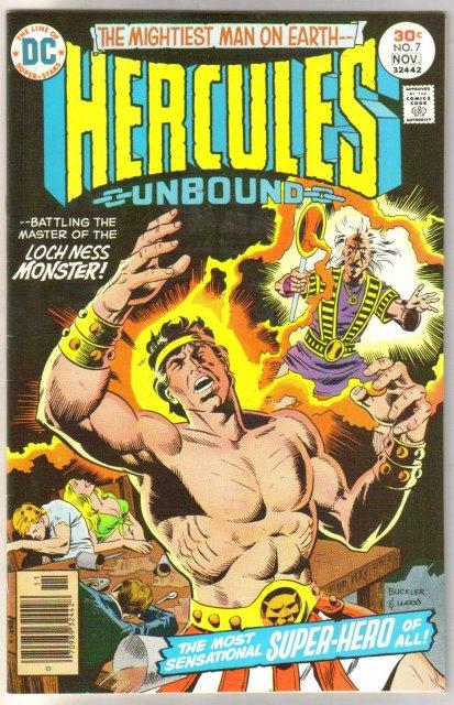 Hercules Unbound #7 comic book near mint 9.4