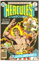 Hercules Unbound #7 comic book near mint 9.4