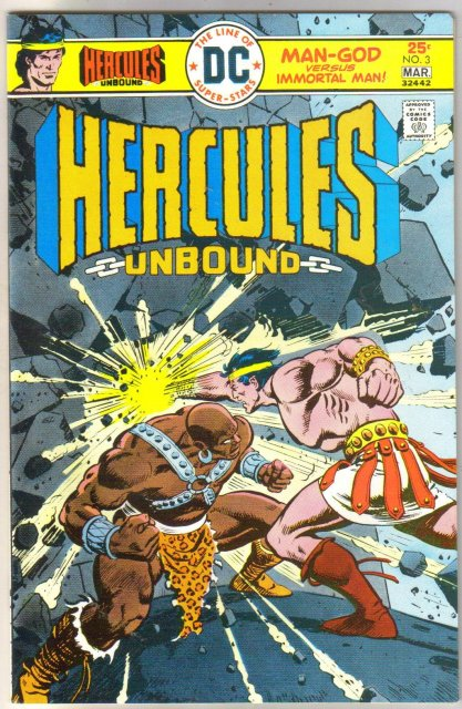 Hercules Unbound #3 comic book near mint 9.4