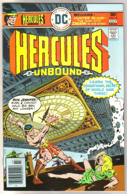 Hercules Unbound #5 comic book mint 9.8