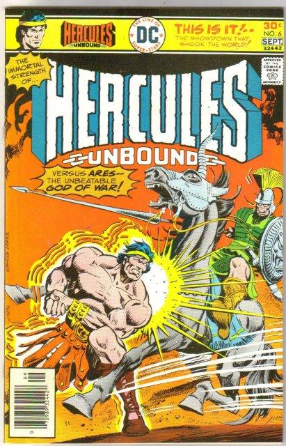 Hercules Unbound #6 comic book mint 9.8