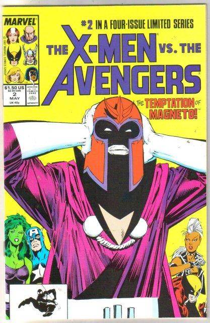X-Men vs. the Avengers #2 comic book near mint 9.4