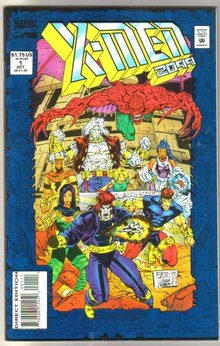 X-Men 2099 #1 comic book near mint 9.4