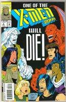 X-Men 2099 #3 comic book near mint 9.4