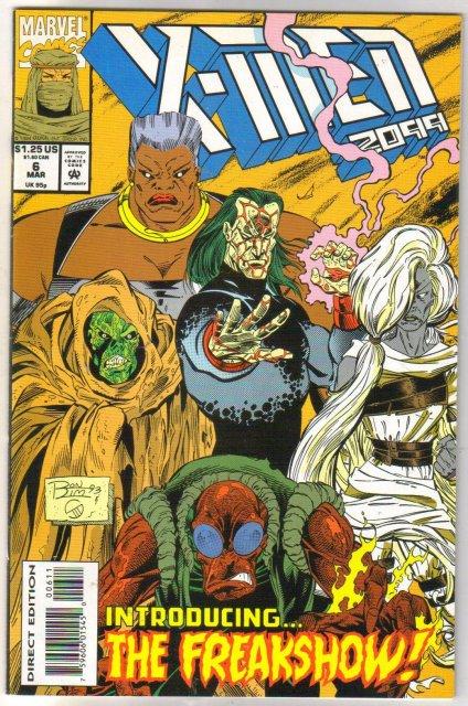 X-Men 2099 #6 comic book near mint 9.4