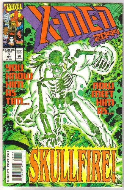 X-Men 2099 #7 comic book near mint 9.4