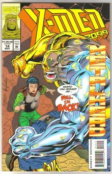 X-Men 2099 #14 comic book near mint 9.4