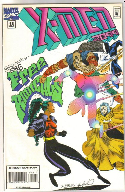 X-Men 2099 #18 comic book near mint 9.4