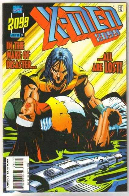 X-Men 2099 #34 comic book near mint 9.4
