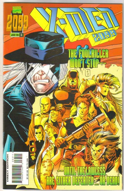 X-Men 2099 #33 comic book mint 9.8