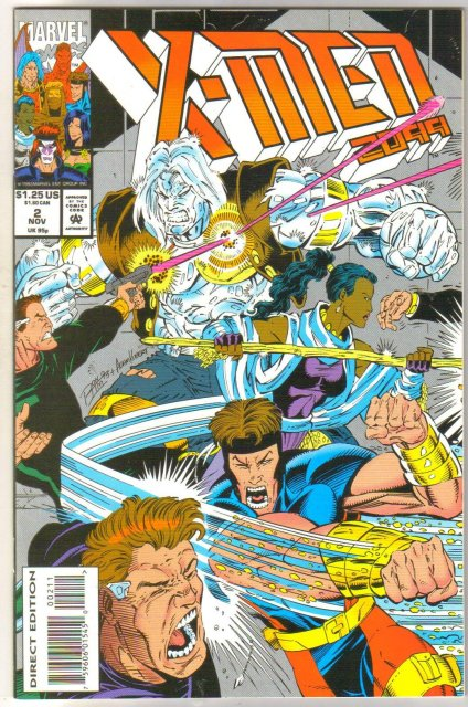 X-Men 2099 #2 comic book mint 9.8