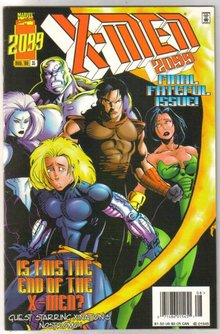 X-Men 2099 #35 comic book very fine/near mint 9.0