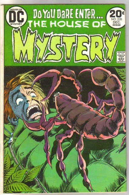 House of Mystery #220 comic book very good/fine 5.0