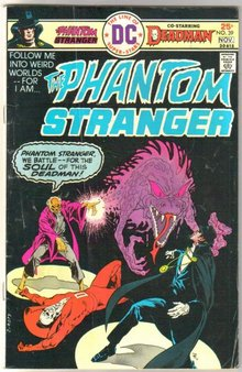 The Phantom Stranger #39 comic book very good/fine 5.0