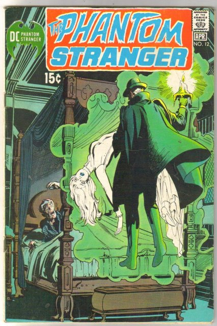 The Phantom Stranger #12 comic book very good/fine 5.0