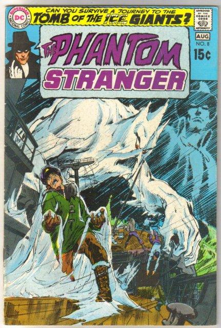 The Phantom Stranger #8 comic book very good/fine 5.0
