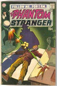 The Phantom Stranger #9 comic book fine 6.0