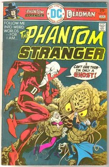 The Phantom Stranger #40 comic book fine 6.0