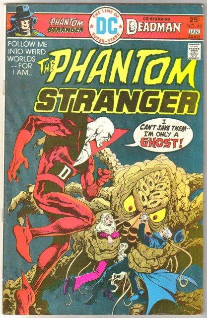 The Phantom Stranger #40 comic book fine 6.0