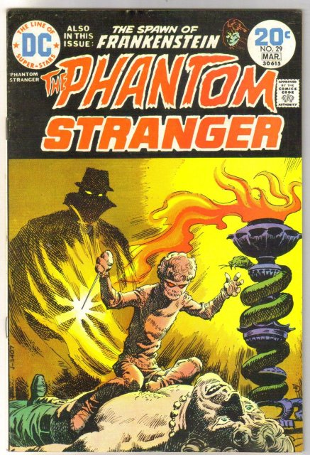 The Phantom Stranger #29 comic book fine/very fine 7.0