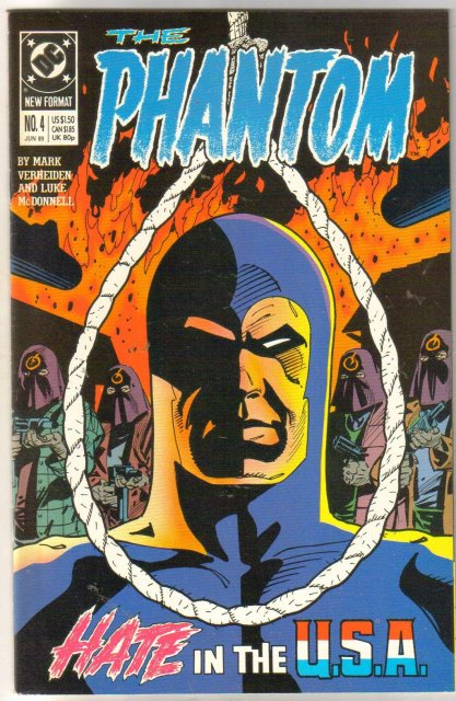 The Phantom #4 comic book mint 9.8