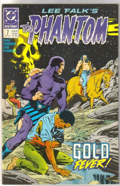 The Phantom #7 comic book mint 9.8