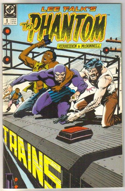 The Phantom #9 comic book mint 9.8