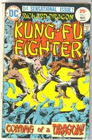 Richard Dragon Kung-Fu Fighter #1 comic book very good 4.0