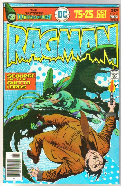 Ragman #2 comic book very fine 8.0