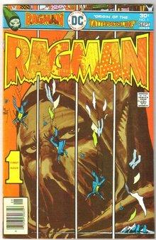 Ragman #1 comic book near mint 9.4