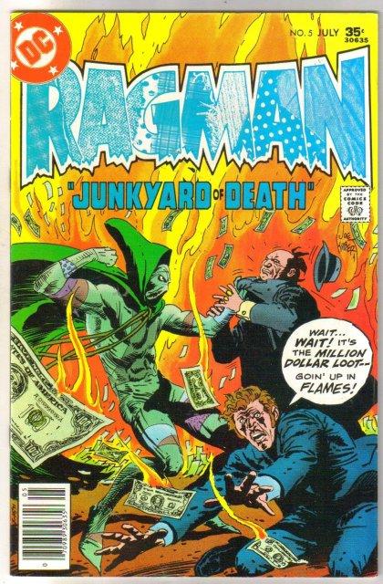 Ragman #5 comic book near mint 9.4