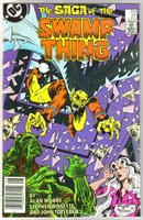 The Saga of the Swamp Thing #27  comic book  mint 9.8
