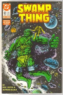Swamp Thing #62  comic book  mint 9.8