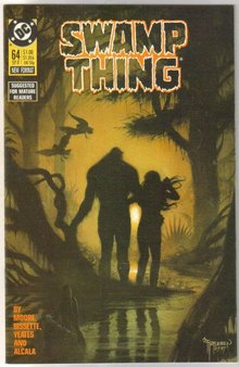 Swamp Thing #64  comic book  mint 9.8