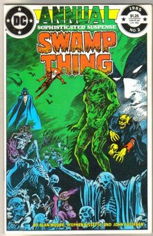 Swamp Thing Annual #2  comic book  mint 9.8