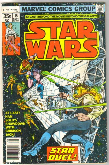Star Wars #15 comic book good/very good 3.0