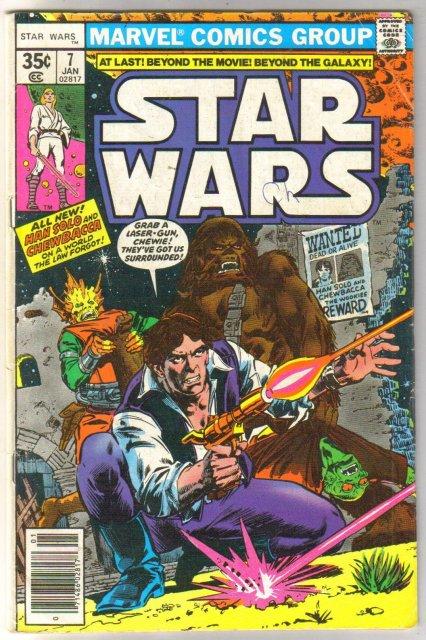 Star Wars #7 comic book very good 4.0
