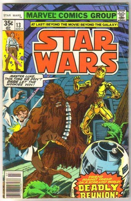 Star Wars #13 comic book very good 4.0