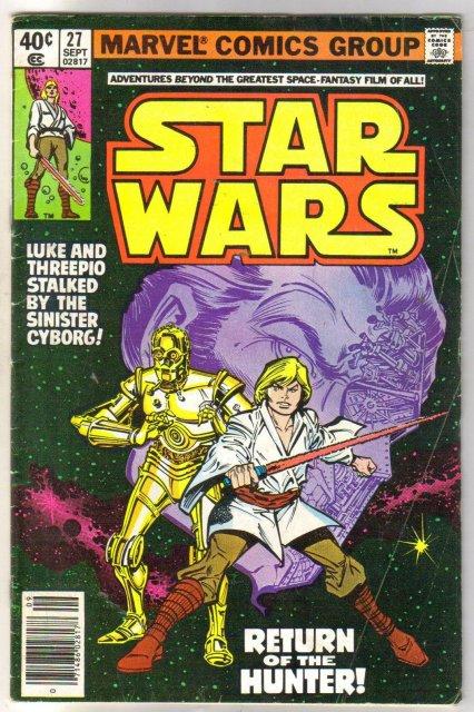 Star Wars #27 comic book very good 4.0